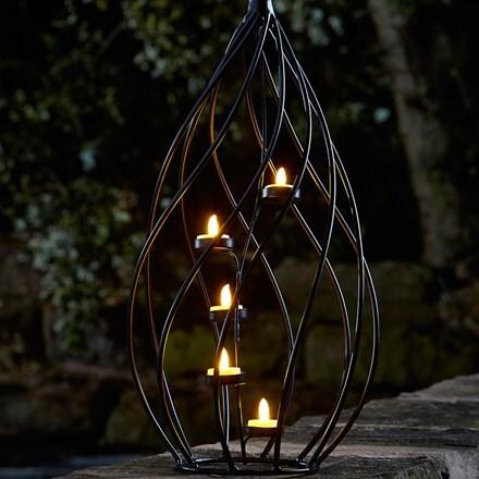 Santiago spiral lantern