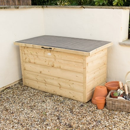 Shiplap garden storage box - pressure treated