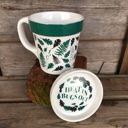 Gardener's anti bug mug