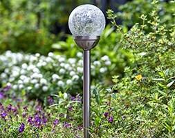 Solar classic majestic stake lights - 5 piece
