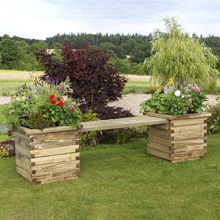 Isabel planter bench