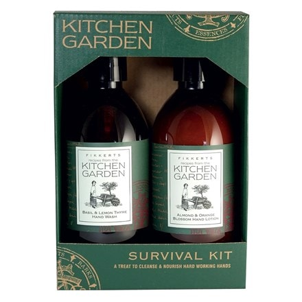 Kitchen garden survival kit gift pack