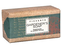 Kitchen garden exfoliating soap