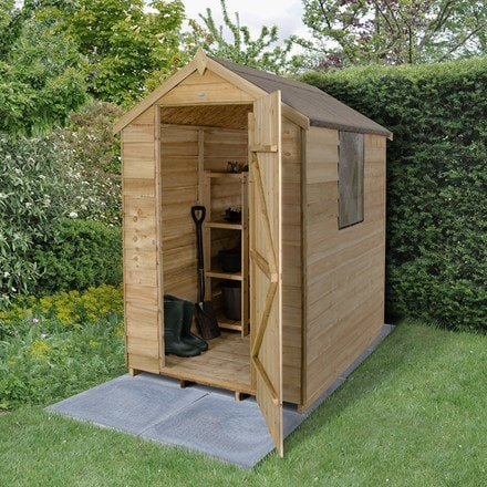 Apex shed 6 x 4