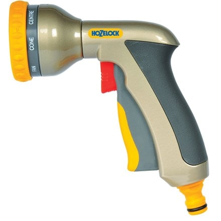 Hozelock multi plus spray gun - metal