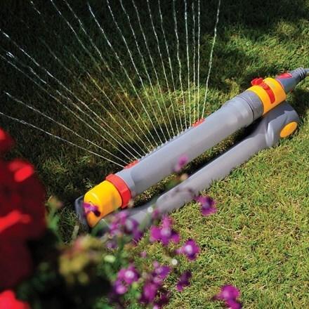 Hozelock rectangular sprinkler pro 200 m²