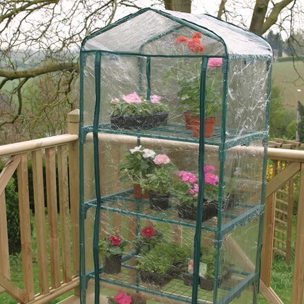 4 tier mini growhouse