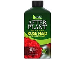 Empathy liquid after plant rose feed