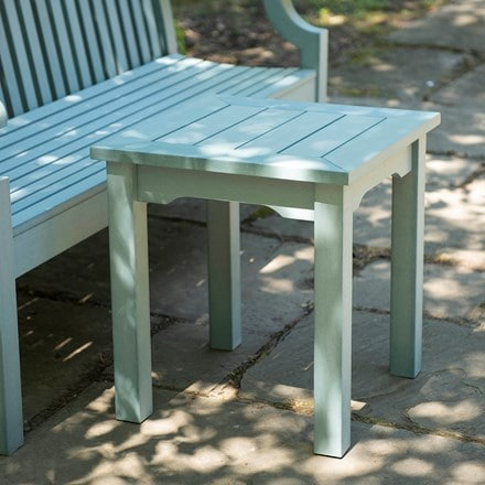 Side table powder blue