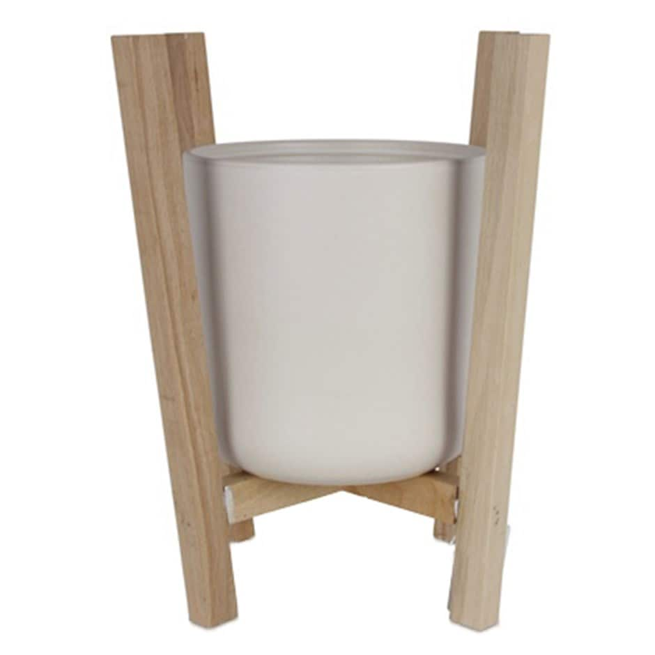Scandi beech planter