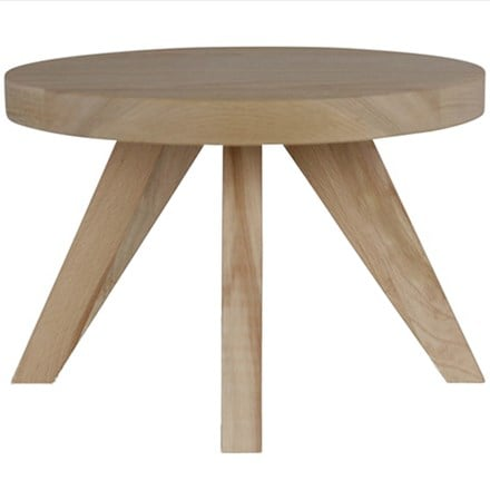 Scandi beech plant table
