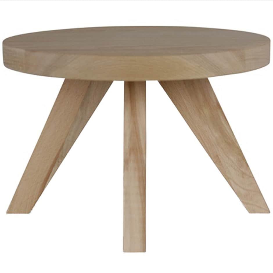 Scandi beech plant table