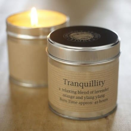 St Eval scented candle tin tranquility