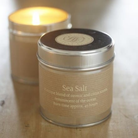 St Eval scented candle tin sea salt