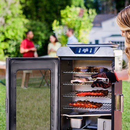 Charbroil digital smoker barbecue