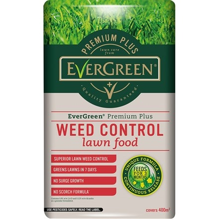 Evergreen premium plus feed and weed
