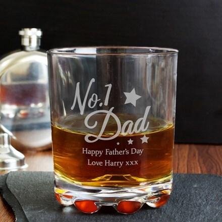 Personalised 'No.1 Dad' tumbler