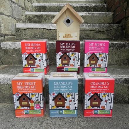 Springwatch bird box kit - grandma