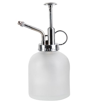 Frosted glass plant mist sprayer