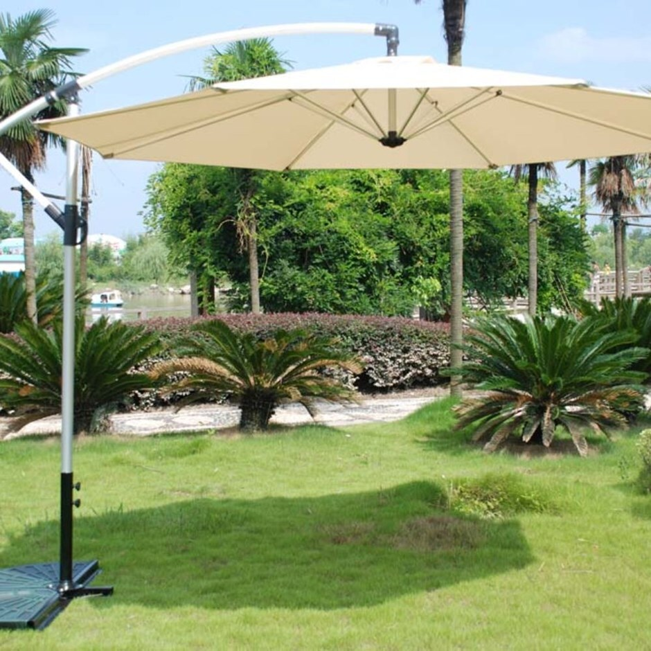 Overhang parasol