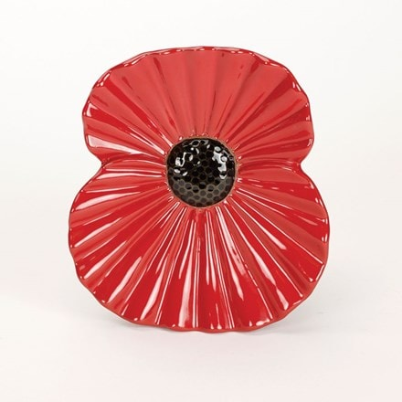 Poppy wall plaque