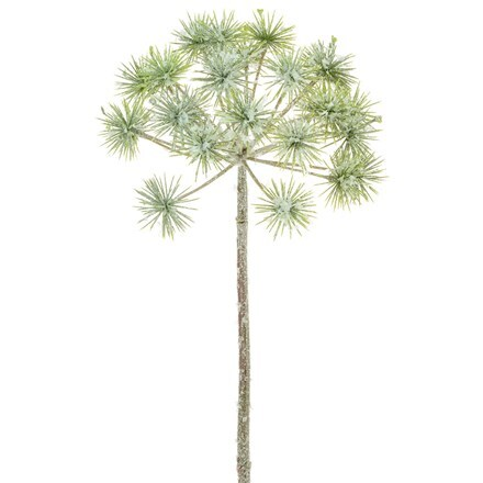Artificial frosty giant dandelion 68cm