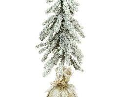 Artificial mini snowy tree 35cm