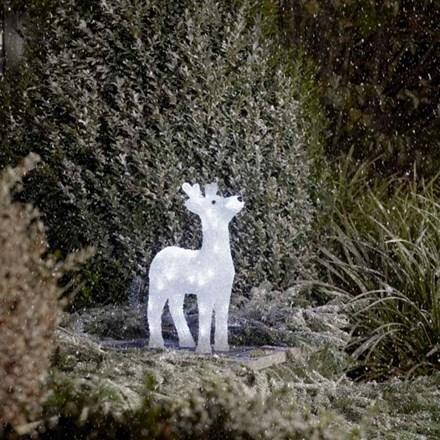 Acrylic reindeer - 38cm