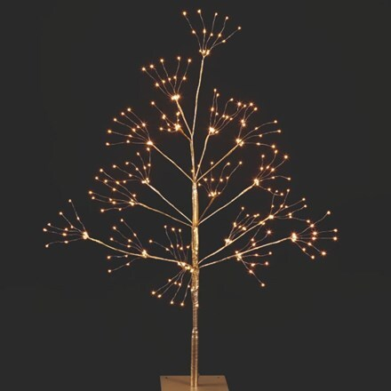 LED gold copper wire tree - 90cm