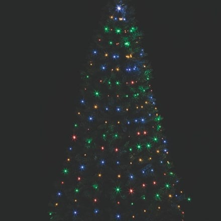 Multi microbright tree net light
