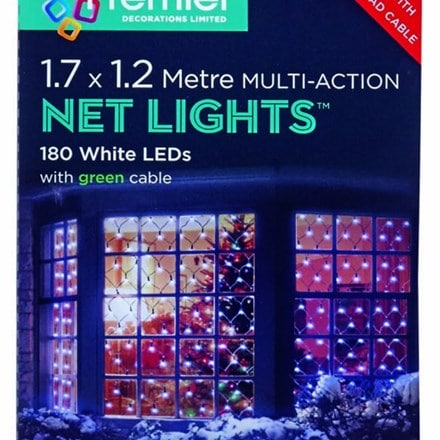 LED multi action net lights