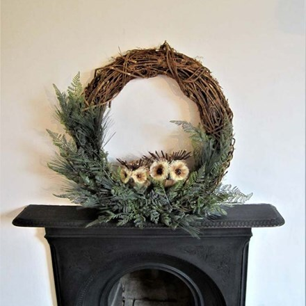 The owlery wreath