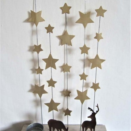Starry starry night painted decoration