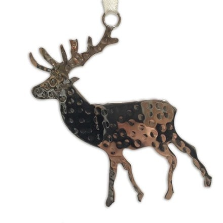 Hanging stag decoration
