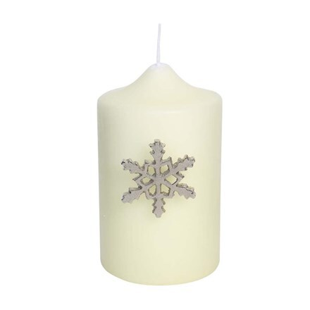 Candle jewellery - snowflakes