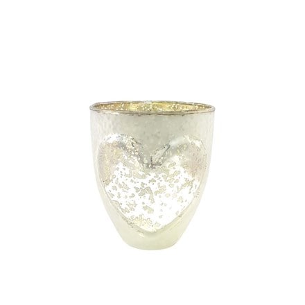 Nordic heart candle holder