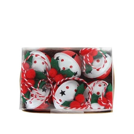 Tin bell jingle - box of 6