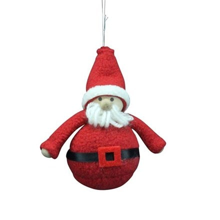Felt Santa decoration