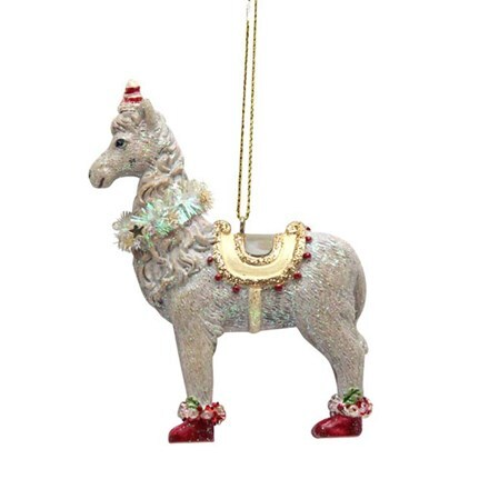 Resin llama decoration