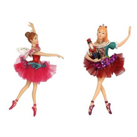 Resin nutcracker Clara ballerina decoration