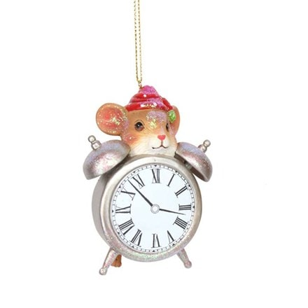 Hickory dickory dock clock with mouse