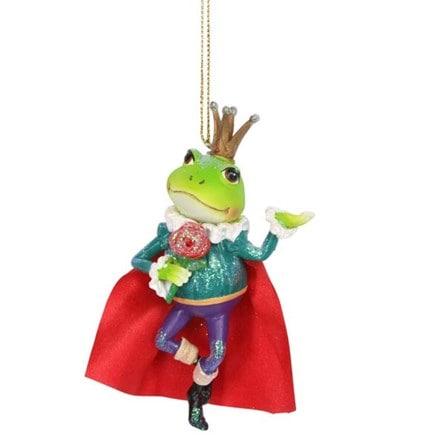 Resin Frog Prince decoration