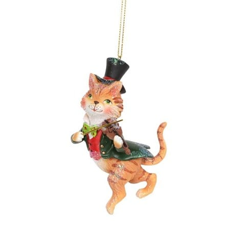 Cat and the fiddle decoration