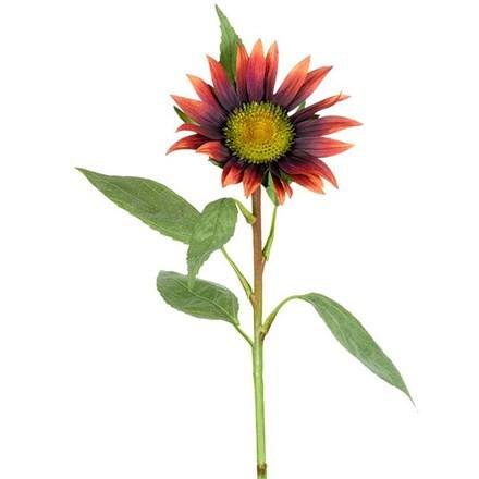 Artificial sunflower stem - russet