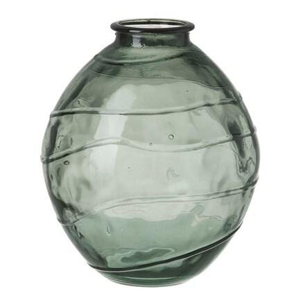 Saturn vase - green