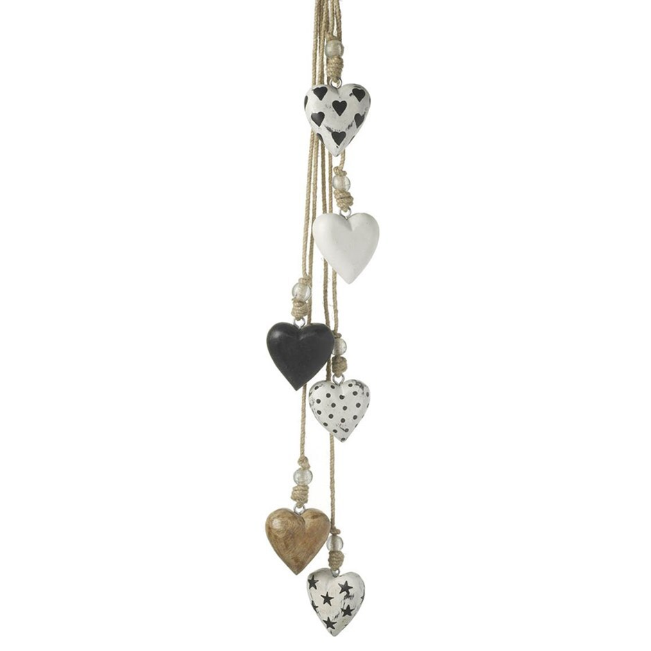 Hanging heart ornament