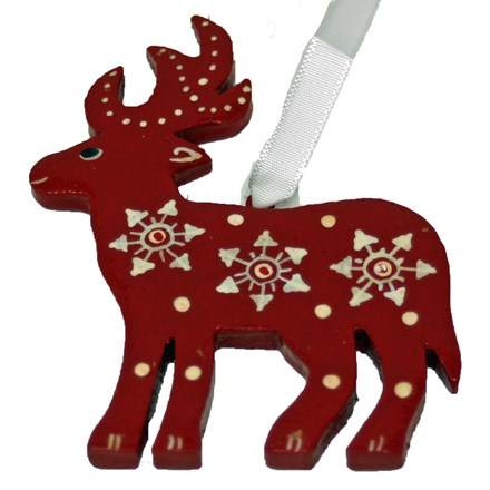 Wooden reindeer - small