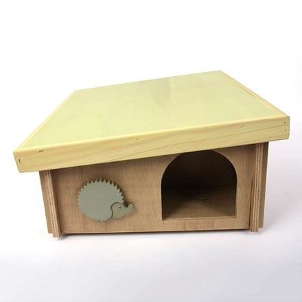 DIY hedgehog house (flat pack)
