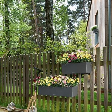 Lechuza Balconera colour planter slate