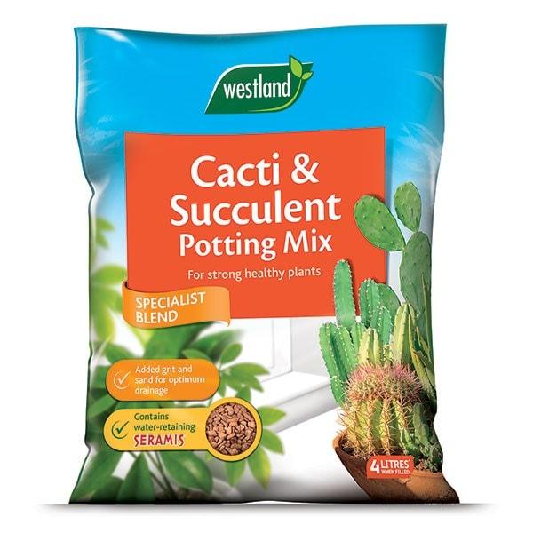 Cacti and succulent potting mix